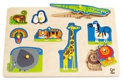 Hape houten vormenpuzzel Wilde dieren