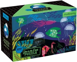 Mudpuppy puzzel Glow in Dark Puzzle - Under the Sea