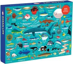 Mudpuppy 1000 PC Puzzle - Ocean Life