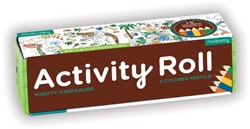 Mudpuppy Activity Roll - Mighty Dinosaurs