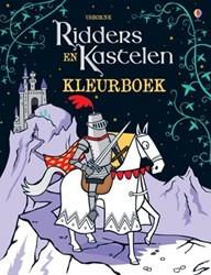 Usborne  kleurboek Ridders en kastelen kleurboek