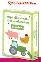 Usborne  doeboek Sjabloonkaarten boerderij