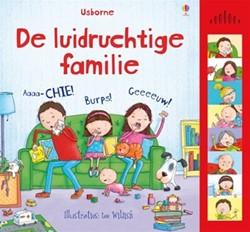 Usborne geluidenboek De luidruchtige familie