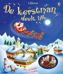 Usborne  voorleesboek De kerstman deelt uit