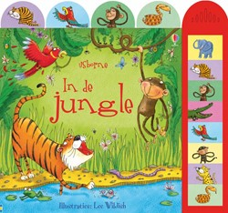 Usborne geluidenboek In de jungle