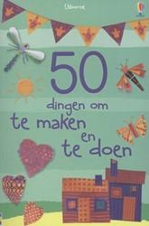 Usborne  doeboek 50 dingen om te maken en te doen