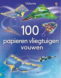 Usborne  doeboek 100 papieren vliegtuigen bouwen