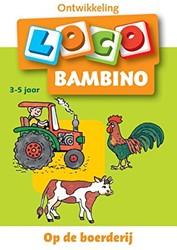 Loco  Bambino educatief spel Op de Boerderij Loco Bambino