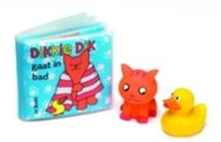 Kinderboeken  voorleesboek Dikkie dik gaat in bad