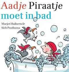 Kinderboeken  prentenboek Aadje Piraatje moet in bad
