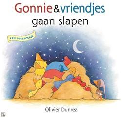 Kinderboeken - Gonnie en vriendjes gaan slapen (voelboek). 2+