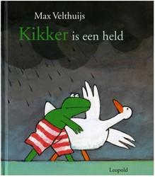 Kinderboeken  prentenboek Kikker is een held