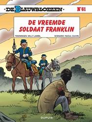 de Blauwbloezen 61 de vreemde soldaat Franklin