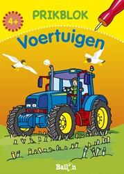 Kinderboeken  doeboek Prikblok Voertuigen