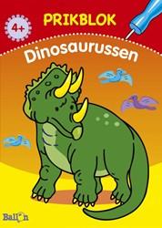 Kinderboeken  doeboek Prikblok Dinosaurussen