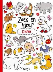 Kinderboeken  doeboek Zoek & kleur dieren