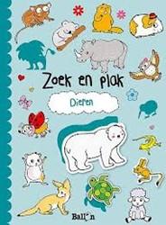 Kinderboeken  doeboek Zoek & plak dieren