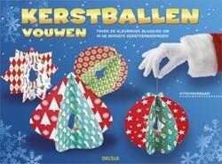 Deltas  doeboek Kerstballen vouwen