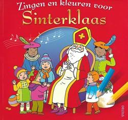 Deltas kleurboek zingen en kleuren voor sinterklaas
