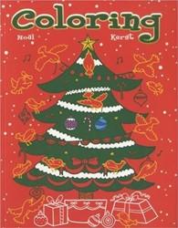 Deltas  kleurboek Coloring Kerst