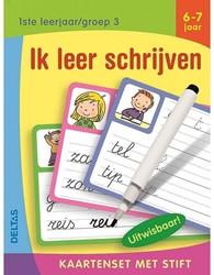 Deltas Kaartenset met stift - Ik leer schrijven (6-7 j.)