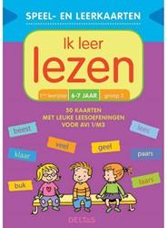 Deltas Speel- en leerkaarten - Ik leer lezen (6-7 j.)