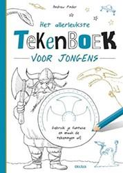 Deltas Het allerleukste tekenboek voor jongens