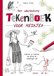 Deltas Het allerleukste tekenboek voor meisjes