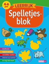 Deltas educatieboek Leerrijk spelletjesblok 4-6 jaar