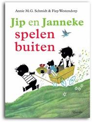 Kinderboeken  voorleesboek Jip en Janneke buiten spelen
