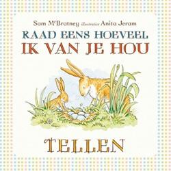 Kinderboeken  prentenboek Raad eens hoeveel ik van je hou - Tellen