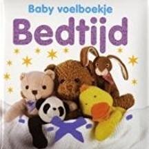 Kinderboeken  babyboek Voelboekje bedtijd