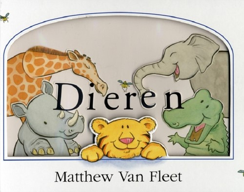 Veltman Dierentuin - Kijk en voelboek: Dieren. 1+