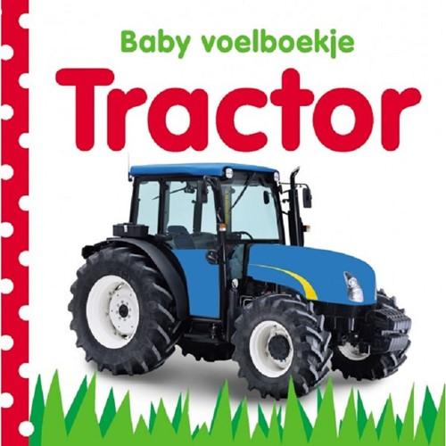 Baby voelboekje: Tractor. 0+