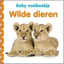 Kinderboeken  babyboek Voelboekje: Wilde dieren