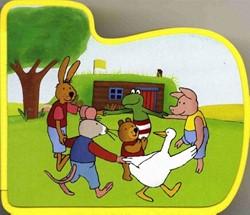 Kinderboeken  prentenboek Kikker en vriendjes: Naar buiten