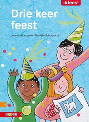 Zwijsen  avi boek Drie keer feest AVI M4