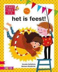 Zwijsen  avi boek Het is feest AVI M3