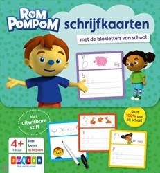 Zwijsen - Leerkaarten - Rompompom schrijfkaarten. 4+