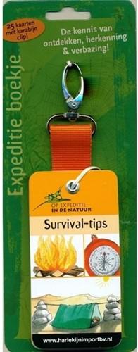 Moses Natuur - Expeditieboekje + clip: survival-tips