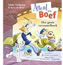 Kinderboeken  prentenboek Agent en boef Het verzamelboek