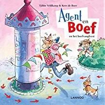 Kinderboeken  prentenboek Agent en boef Het boefvangfees