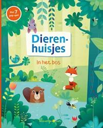Klavertje Vier voorleesboek dierenhuisjes in het bos pop-up