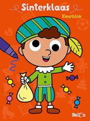 Planet Happy Kleurboek Sinterklaas kleurblok