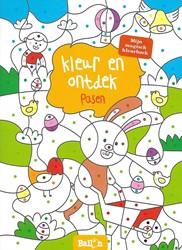 Kinderboeken kleurboek kleur en ontdek pasen