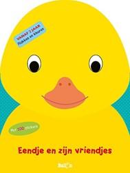 Kinderboeken doeboek plak en kleur eendje en zijn vriendjes