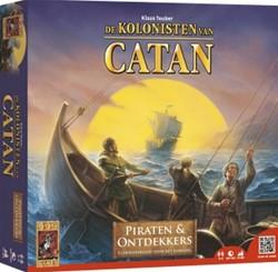 999 Games  bordspel Kolonisten van Catan - Piraten en Ontdekkers