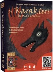 999 Games spel De Weerwolven van Wakkerdam: Karakters