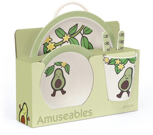 Jellycat - Amuseable Avocado Bamboo Set - 25cm