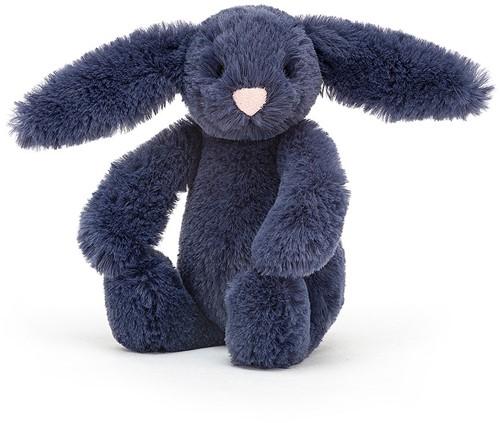 Jellycat - Bashful Blauw Konijn Baby - 13cm